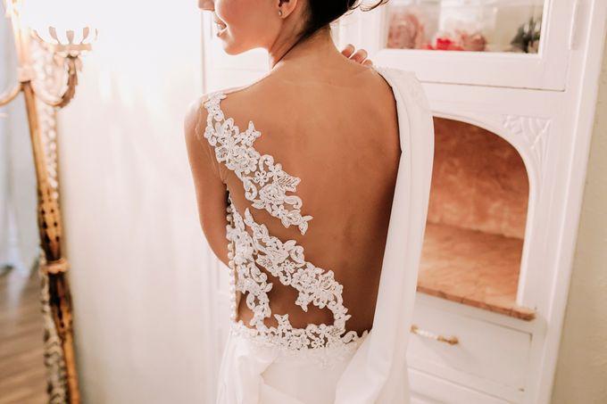 Prueba de vestido de novia by Carlos Lucca - 002