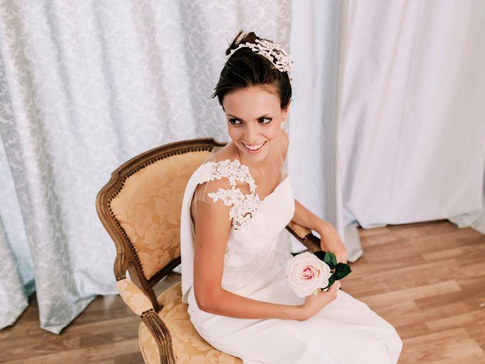 Prueba de vestido de novia by Carlos Lucca - 005
