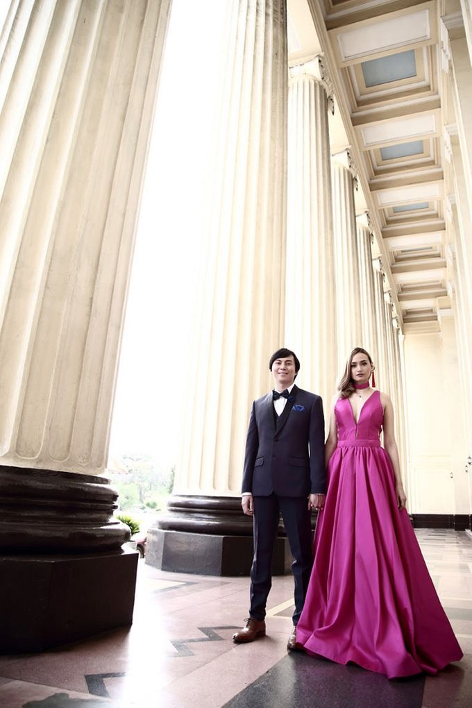 Manila Central Post Office Prenup of Neil and Lou by Bessie Besana Atelier - 006