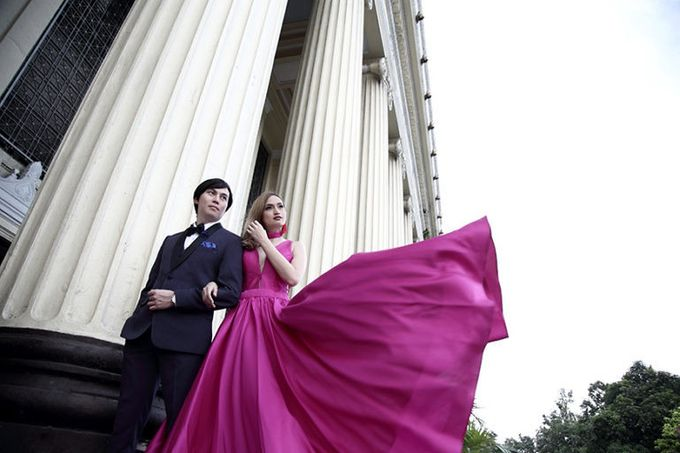 Manila Central Post Office Prenup of Neil and Lou by Bessie Besana Atelier - 005