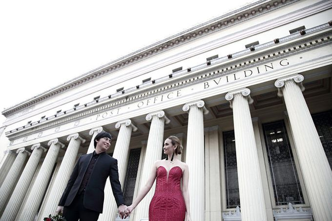 Manila Central Post Office Prenup of Neil and Lou by Bessie Besana Atelier - 002