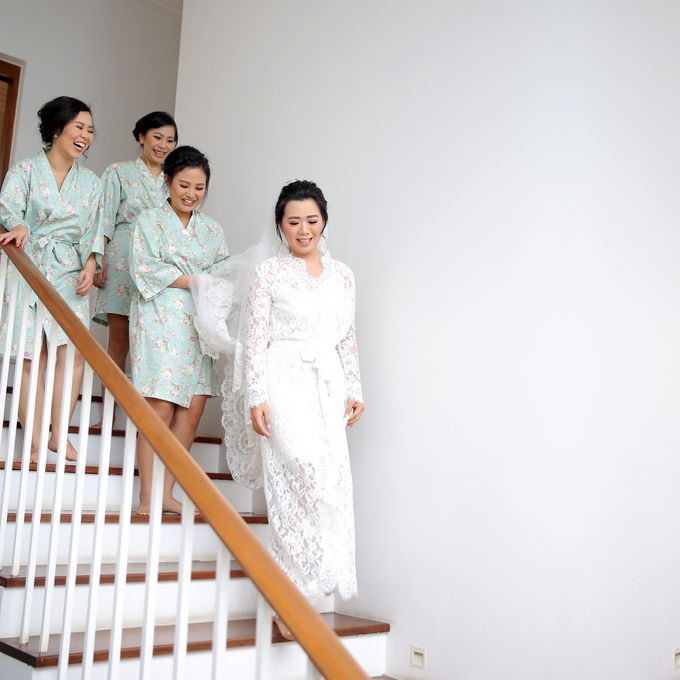 Bridesmaids Robes for CA Wedding Jakarta by Serendipicky - 001