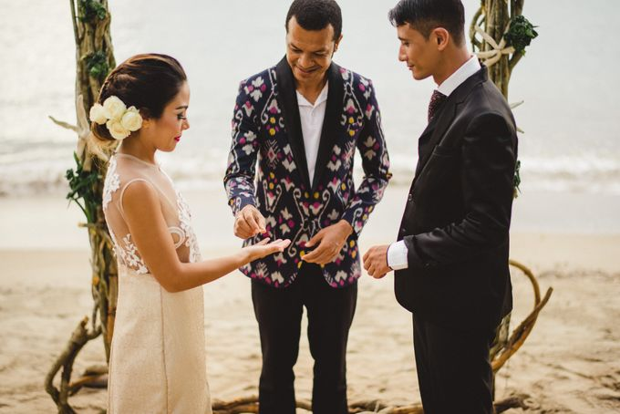 Beach Wedding at Plataran Komodo Resort and Spa by Plataran Indonesia - 034