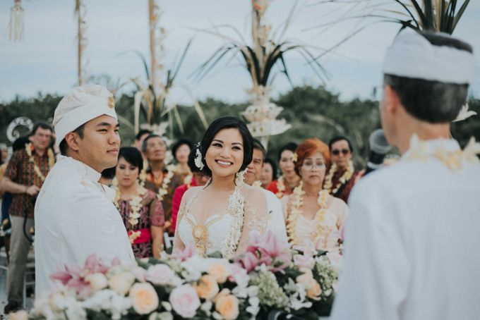 Andrew & Mylene Beautiful Wedding in Bali by Lis Make Up - 039