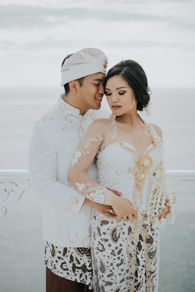 Andrew & Mylene Beautiful Wedding in Bali by Lis Make Up - 036