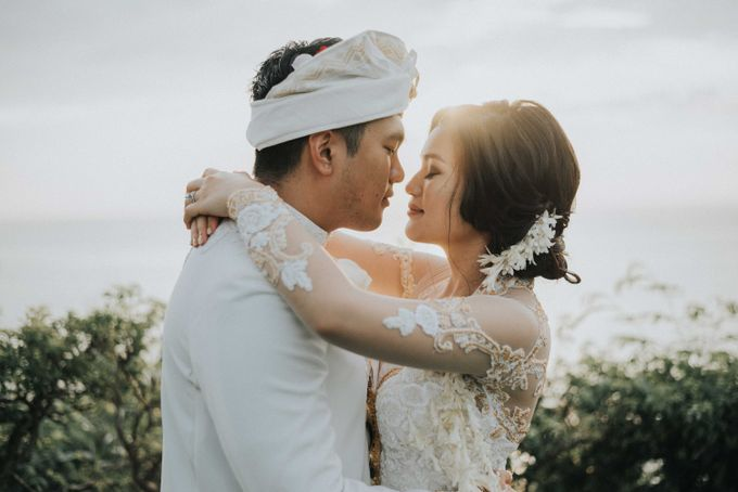 Andrew & Mylene Beautiful Wedding in Bali by Lis Make Up - 038