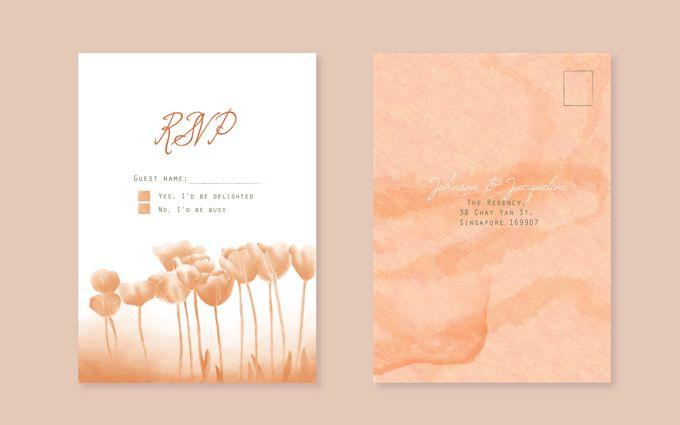 Wedding invitation suite by Faith Creative Studio - 003
