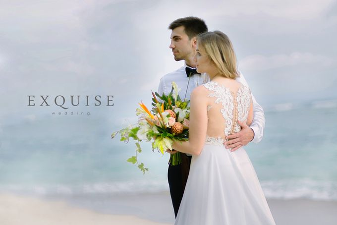 The Wedding of Evgenia & Pavel by Exquise Gowns - 002