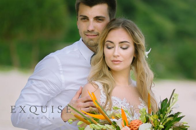 The Wedding of Evgenia & Pavel by Exquise Gowns - 003