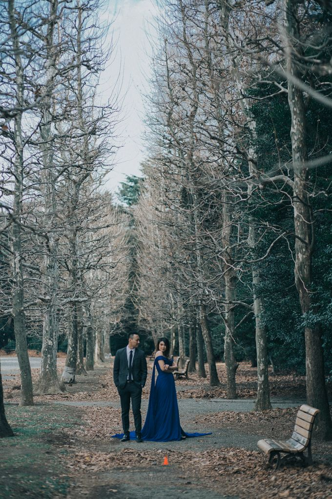 The Prewedding of Rusdi and Vania - Tokyo by Lighthouse Photography - 007