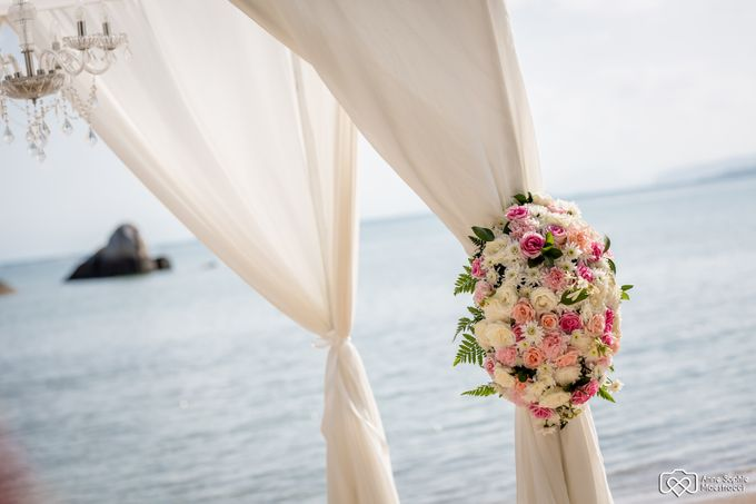 Beach wedding for Alex and Ramona by Unique Wedding and Events - 008