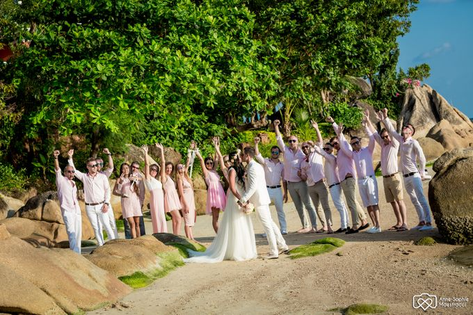 Beach wedding for Alex and Ramona by Unique Wedding and Events - 030