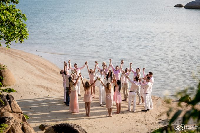 Beach wedding for Alex and Ramona by Unique Wedding and Events - 031