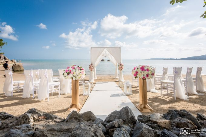 Beach wedding for Alex and Ramona by Unique Wedding and Events - 009