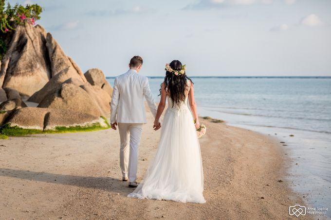 Beach wedding for Alex and Ramona by Unique Wedding and Events - 033