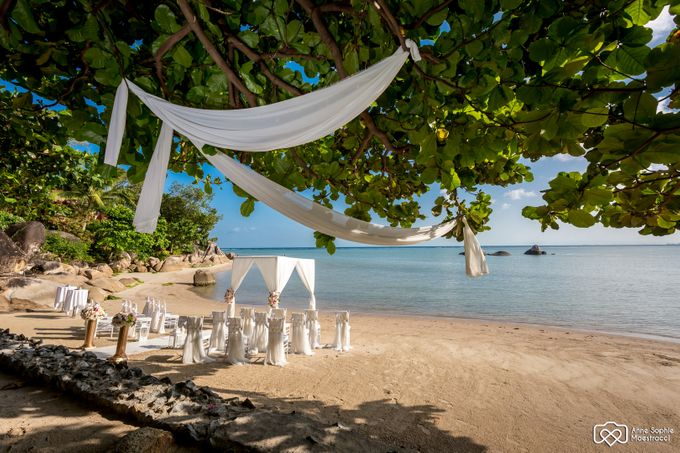 Beach wedding for Alex and Ramona by Unique Wedding and Events - 015