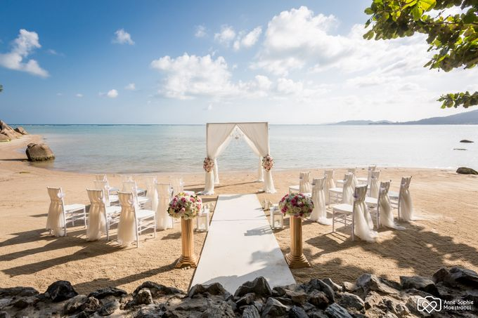 Beach wedding for Alex and Ramona by Unique Wedding and Events - 001