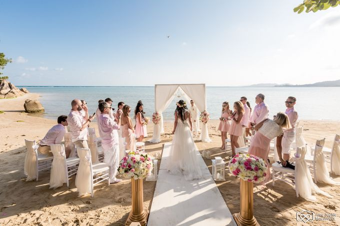Beach wedding for Alex and Ramona by Unique Wedding and Events - 020