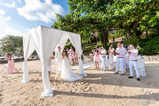 Beach wedding for Alex and Ramona by Unique Wedding and Events - 024