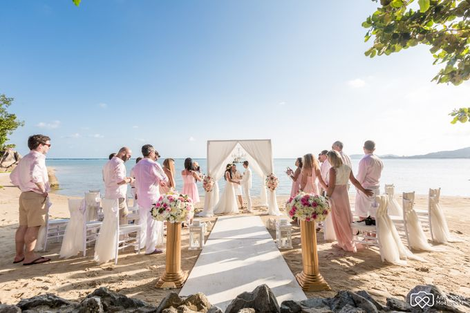 Beach wedding for Alex and Ramona by Unique Wedding and Events - 025