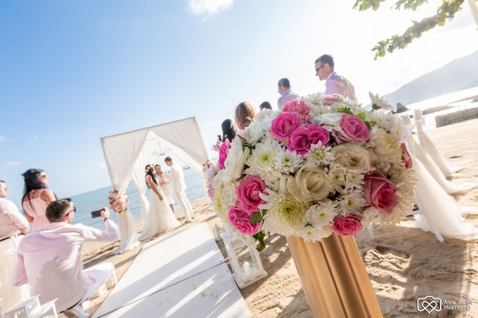 Beach wedding for Alex and Ramona by Unique Wedding and Events - 026