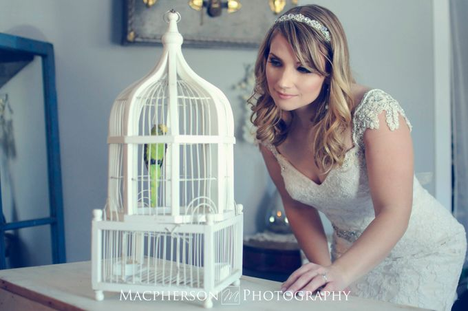 Vintage Wedding Styled Shoot by Macpherson Photography - 007