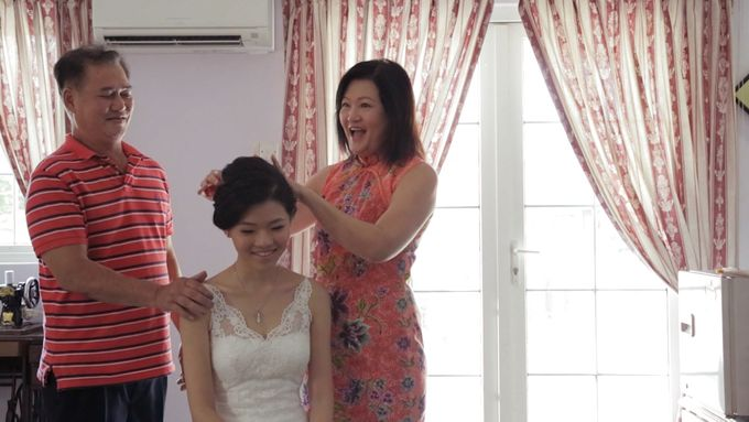 Raymond & Gladys // holy matrimony // wedding dinner // first dance // same day edit express highlight by Teck Kuan // 2014 by The Next Chapter Film - 002