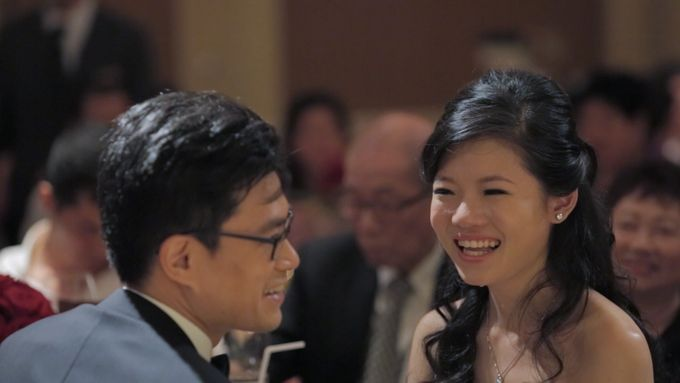 Raymond & Gladys // holy matrimony // wedding dinner // first dance // same day edit express highlight by Teck Kuan // 2014 by The Next Chapter Film - 008