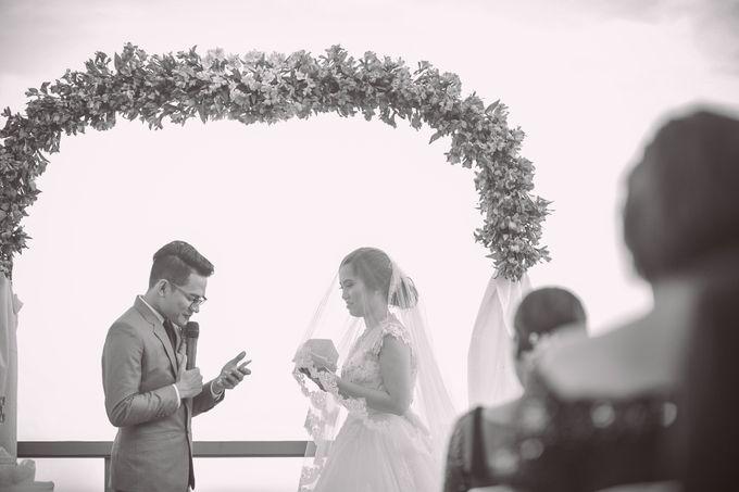 Raymond and Kristine Wedding by RAJ Photo - 036