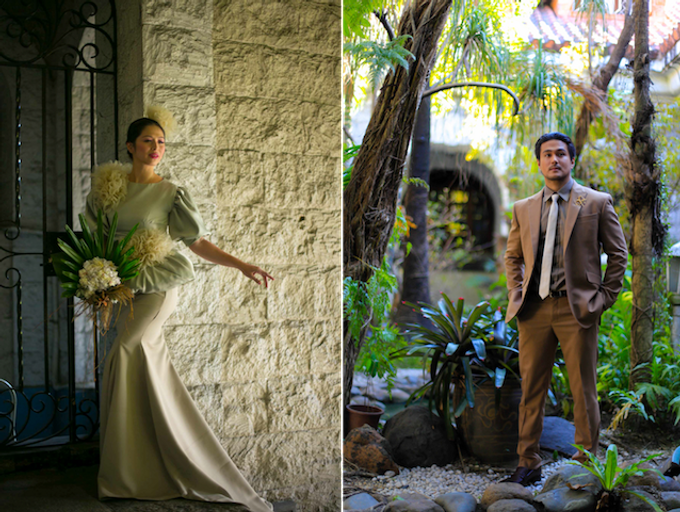 A MOCKINGJAY Wedding | Wardrobe Styling by  MISS KAYCE | Suits by MLCK by The Makeup of Mica - 001