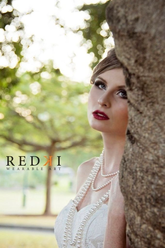 Jewels in the Park - A Winters Day by Redki - Couture Jewellery - 001