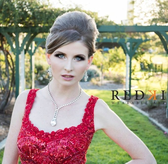 Jewels in the Park - A Winters Day by Redki - Couture Jewellery - 002