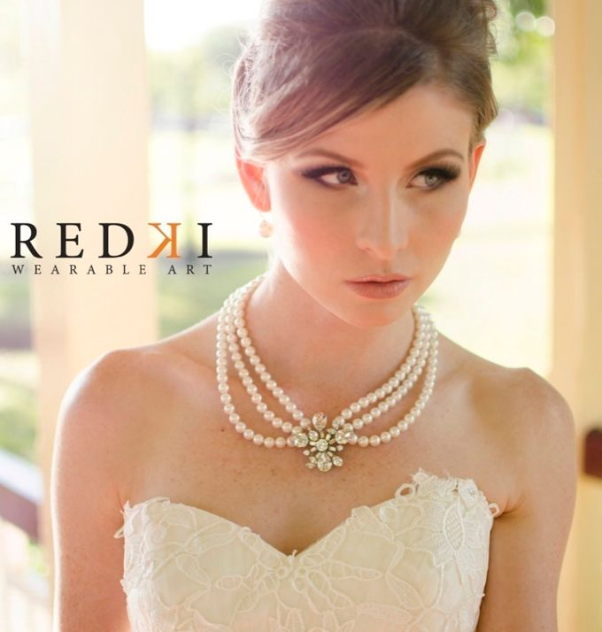 Jewels in the Park - A Winters Day by Redki - Couture Jewellery - 004