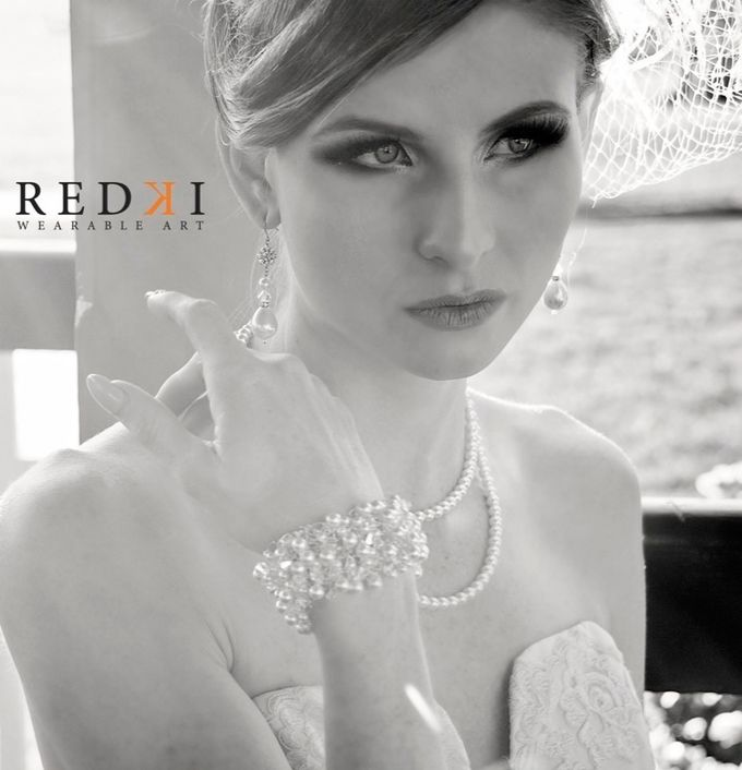 Jewels in the Park - A Winters Day by Redki - Couture Jewellery - 005