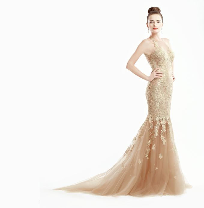 GOLD GRANDEUR by Ann Teoh Couture - 001