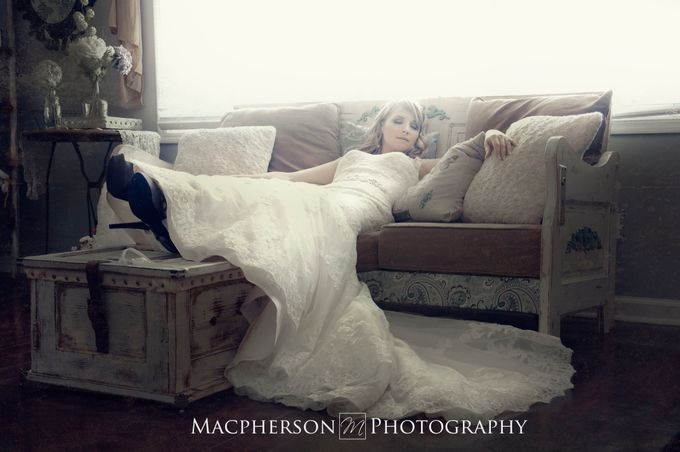 Vintage Wedding Styled Shoot by Macpherson Photography - 008