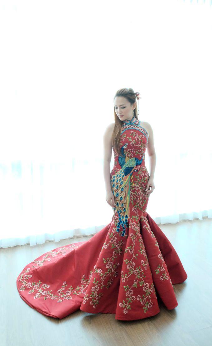 Cheongsam Embroidery - GV HERITAGE by GV by Gabriella Vania - 004