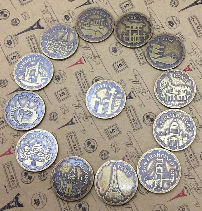 Wedding Coins by Jigs and Clays - 009