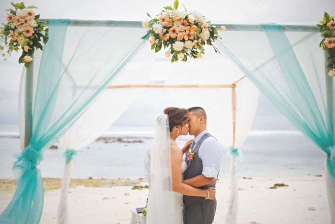 Romantic Wedding and Best Sea View  in South Bali by Oliver Ken Photography - 010