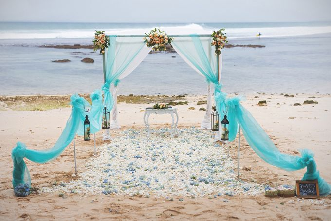 Romantic Wedding and Best Sea View  in South Bali by Oliver Ken Photography - 001