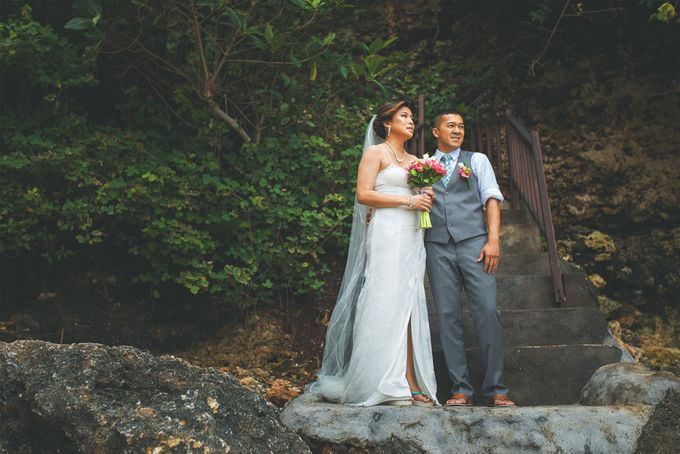 Romantic Wedding and Best Sea View  in South Bali by Oliver Ken Photography - 005