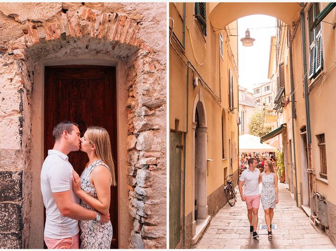 Romantic wedding proposal by the sea in Monterosso in Cinque Terre by PURE wedding photography - 013