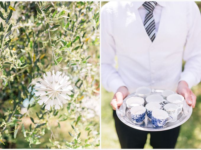 Romantic wedding with a symbolic ceremony in Lucca through the olives of the Tuscan countryside by PURE wedding photography - 002