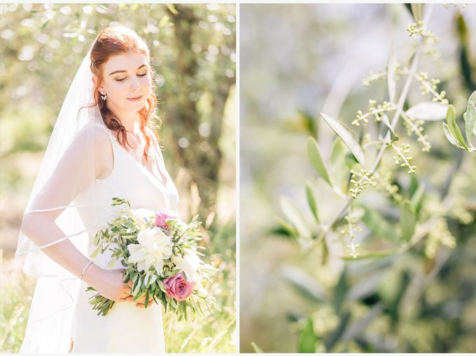 Romantic wedding with a symbolic ceremony in Lucca through the olives of the Tuscan countryside by PURE wedding photography - 008