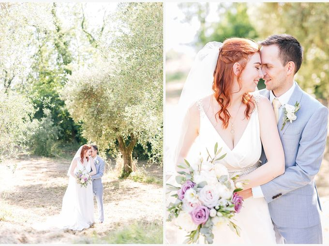 Romantic wedding with a symbolic ceremony in Lucca through the olives of the Tuscan countryside by PURE wedding photography - 009