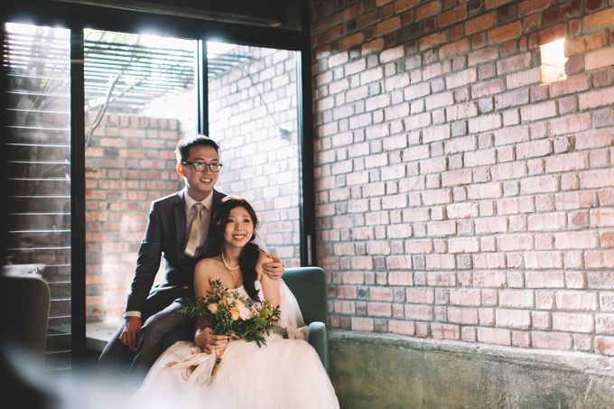 A DIY Rustic Vintage Church Wedding by Arch and Vow Studio - 015