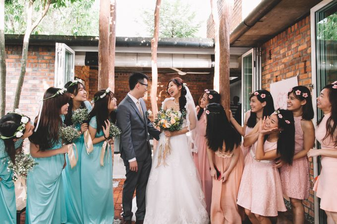 A DIY Rustic Vintage Church Wedding by Arch and Vow Studio - 016