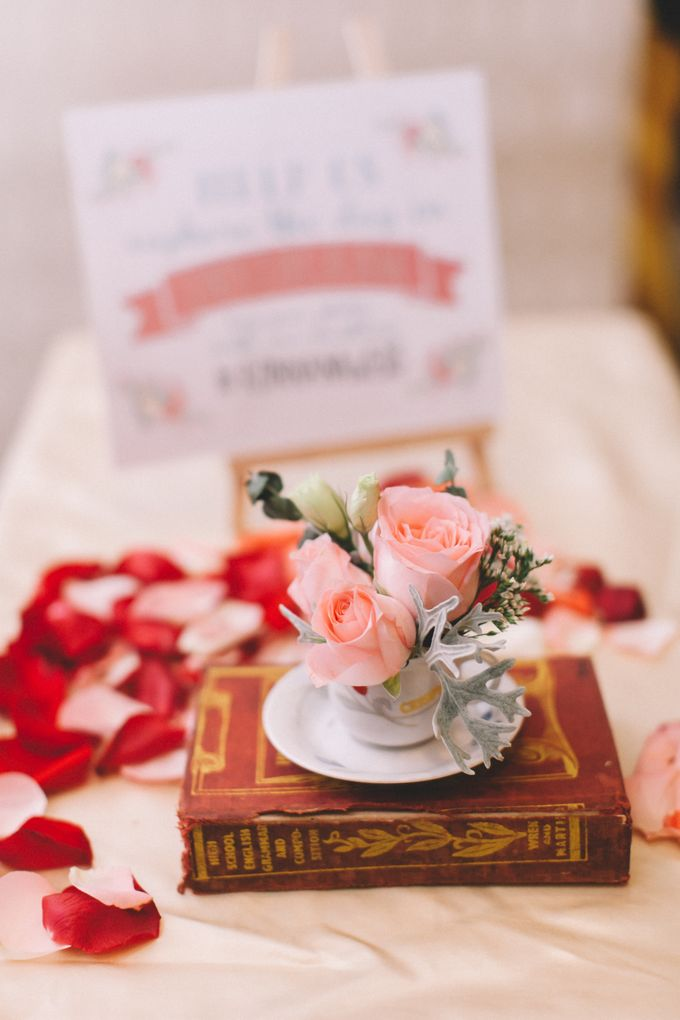 A DIY Rustic Vintage Church Wedding by Arch and Vow Studio - 032