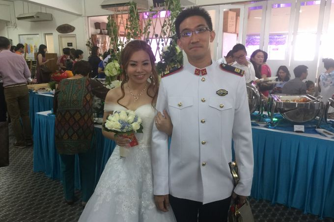 Church Wedding of Norman & Jasmine by Royal Catering Services Pte Ltd - 004