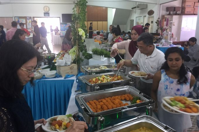 Church Wedding of Norman & Jasmine by Royal Catering Services Pte Ltd - 005